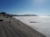 Still ice in april